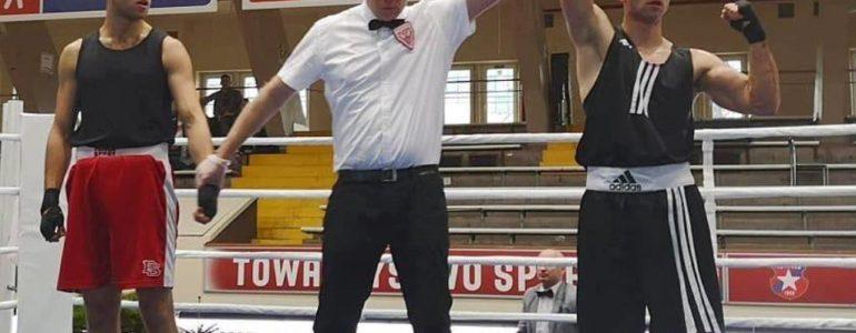 Drugi życiowy sukces w boksie Wiktora Czopka