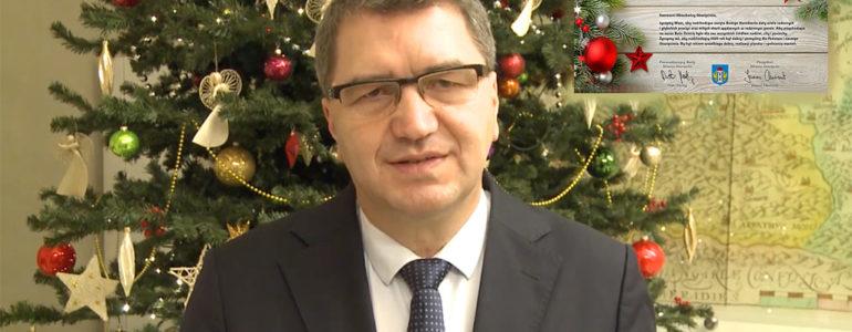 Życzenia świąteczne od prezydenta Oświęcimia – FILM