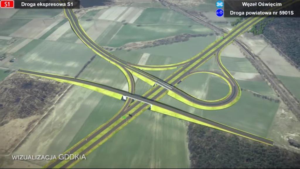 """Większość czasu """"Wieści z ratusza"""" poświęcają ogłoszeniu przetargu na budowę długo oczekiwanej obwodnicy Oświęcimia wraz z trzecim mostem drogowym."""