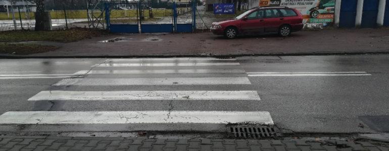 Potrącił kobietę na przejściu dla pieszych – FOTO
