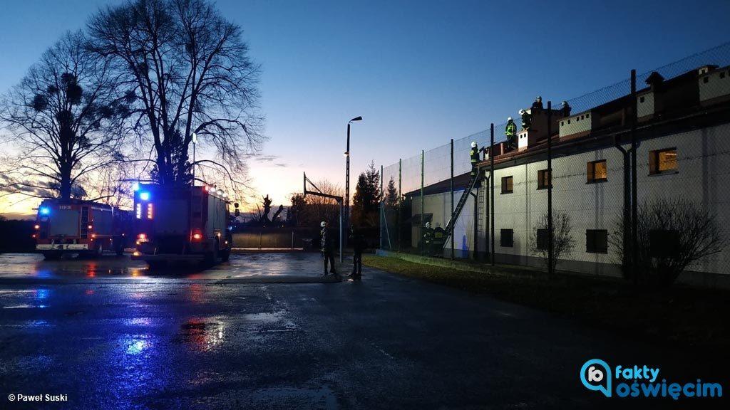 Ratownicy z Państwowej Straży Pożarnej i Ochotniczych Straży Pożarnych w całym powiecie przeprowadzili prawie 40 interwencji strażackich w związku z pogodą.