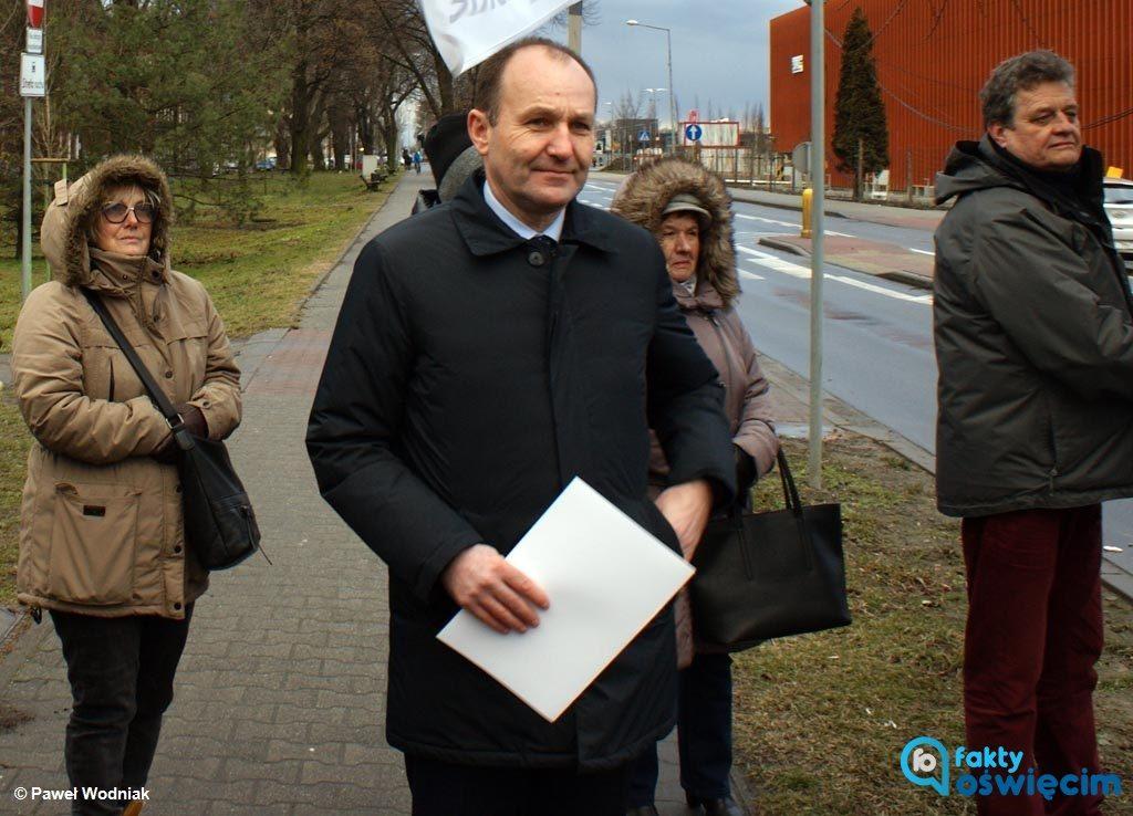 Komitet Terenowy Prawa i Sprawiedliwości apeluje do Janusza Chwieruta, prezydenta Oświęcimia, o potępienie udziały posła Marka Sowy w happeningu KOD.