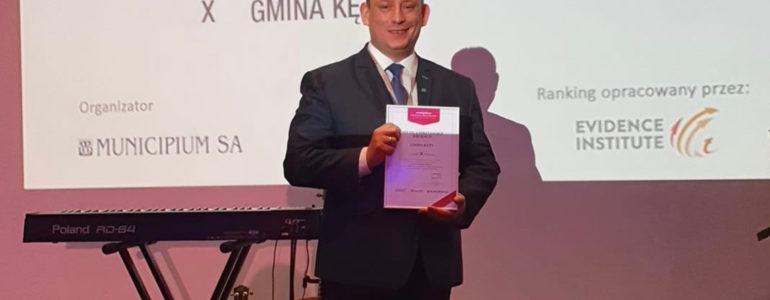 Kęty w pierwszej dziesiątce wszystkich gmin w Polsce
