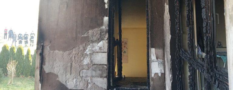 Płonął dom w Piotrowicach
