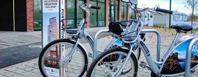Rowery miejskie odłożone w czasie