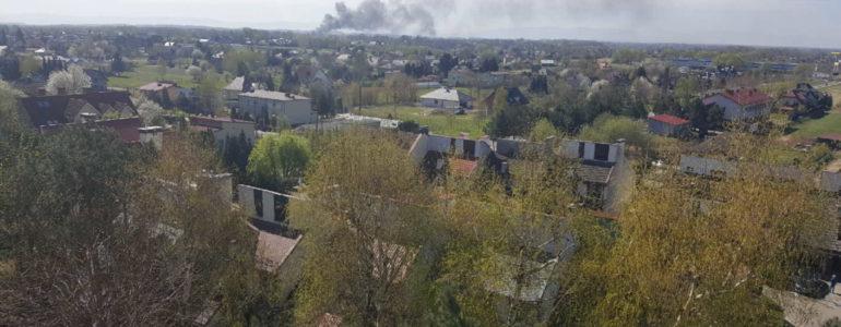 Pożar w Zaborzu. Było słychać eksplozję – FILMY