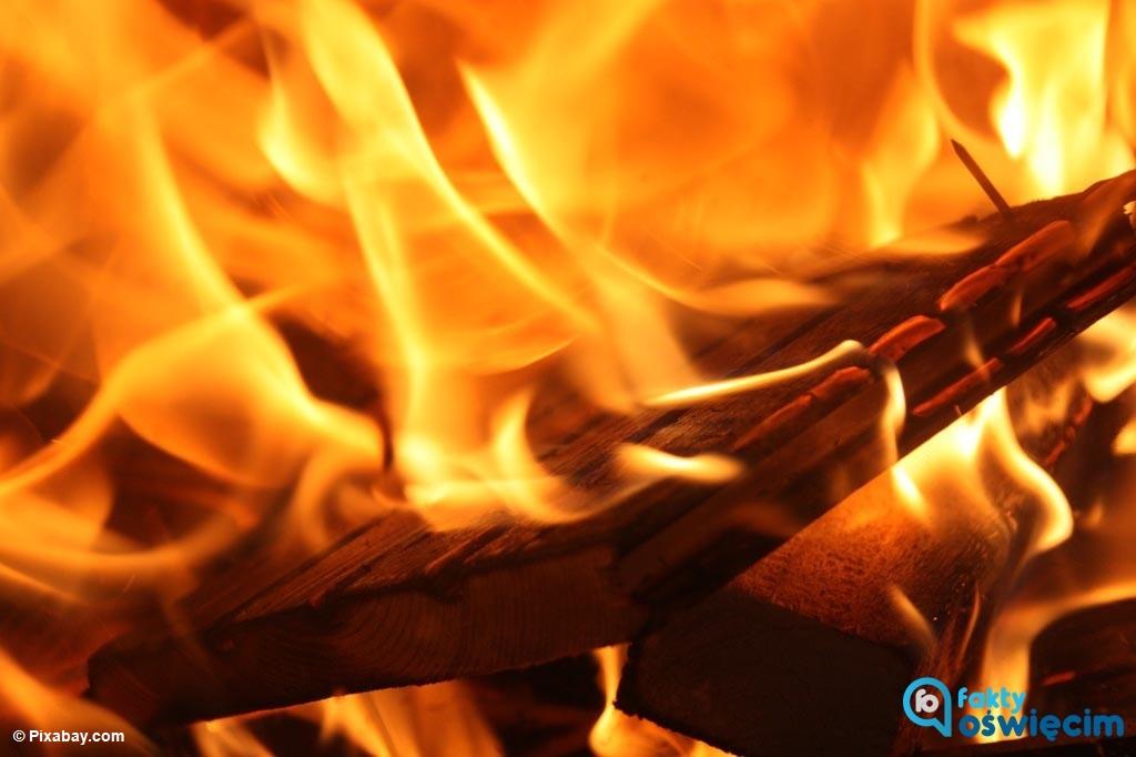 Wczesnym rankiem strażacy i policjanci interweniowali w jednym z mieszkań w Kętach. Przyczyną interwencji był płomienny wygaszacz ekranu komputera.