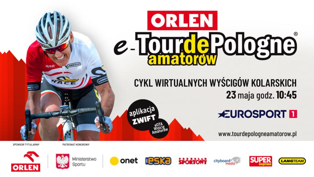 Przed nami trzeci etap ORLEN e-Tour de Pologne Amatorów. W sobotę 23 maja kolarze będą się ścigać na trenażerach na wirtualnej trasie w Yorkshire.