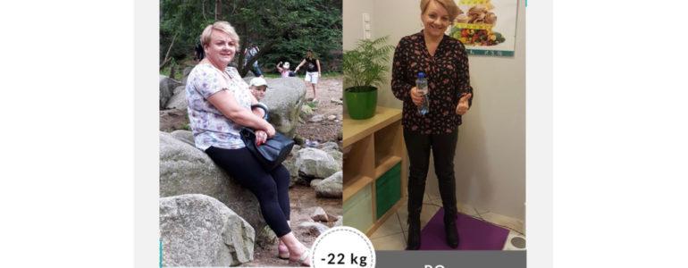 Basia schudła 22 kg w Projekt Zdrowie
