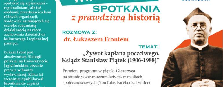 Łukasz Front o ks. Stanisławie Piątku