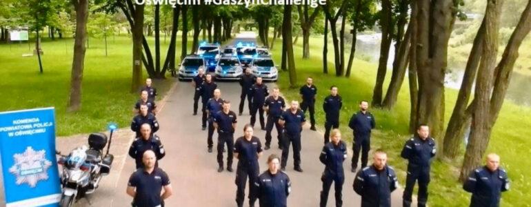 Policjanci przyłączyli się do akcji #GaszynChallenge – FILM