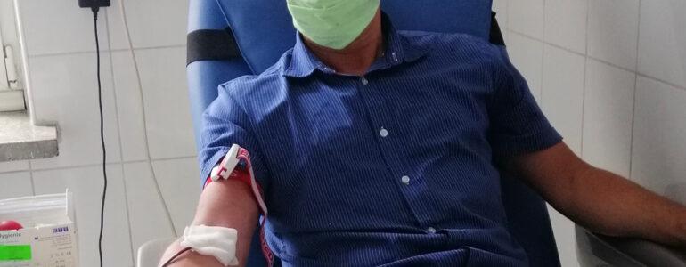 Re-Plast Unia Oświecim zachęca do oddawania krwi