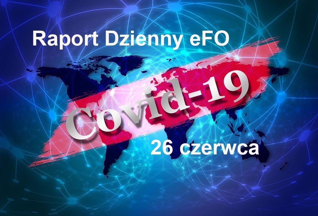 Od ostatniej aktualizacji Raportu Dziennego eFO w Małopolsce przybyło 17 przypadków zachorowania na COVID-19, a także 24 ozdrowieńców.