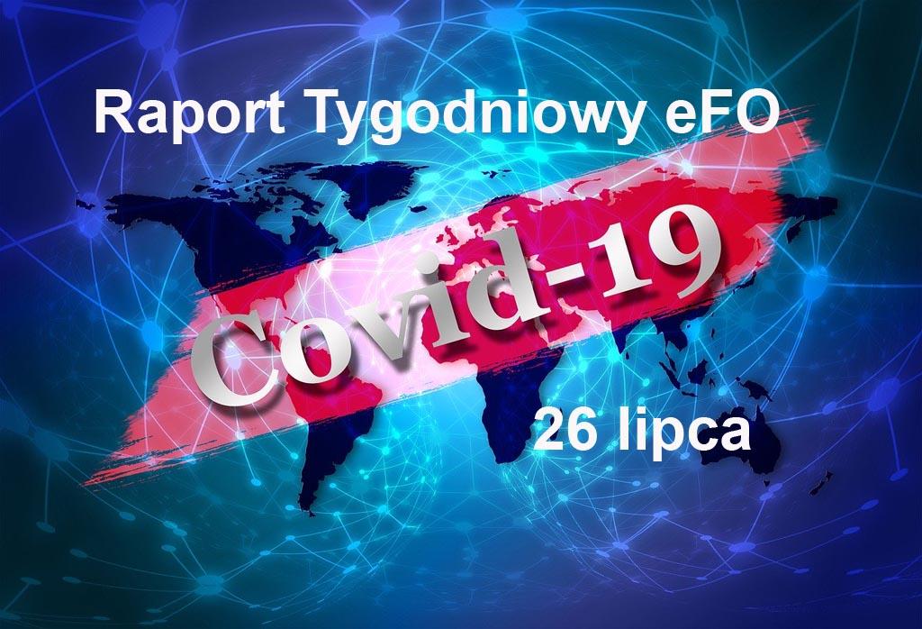 Od ostatniego Raportu Tygodniowego eFO w powiecie oświęcimskim przybyło 57 przypadków zachorowania na COVID-19. W tym czasie sześć osób wyzdrowiało.