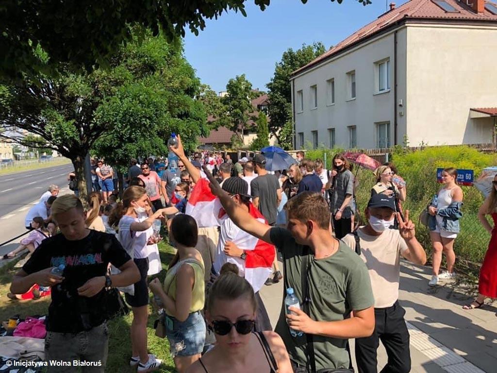 W sobotę o godzinie 18 na Rynku Głównym w Oświęcimiu odbędzie się wiec solidarności z Białorusinami, którzy walczą o ojczyznę wolną od dyktatury.