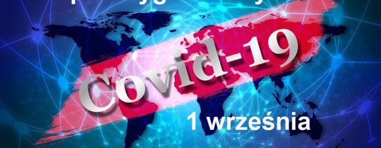 COVID-19 – RAPORT TYGODNIOWY – 7 WRZEŚNIA