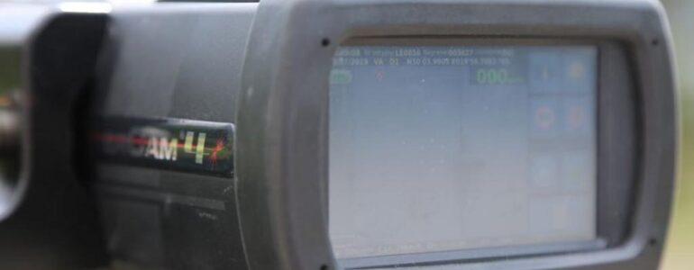 Kaskadowy pomiar prędkości z promilami w tle