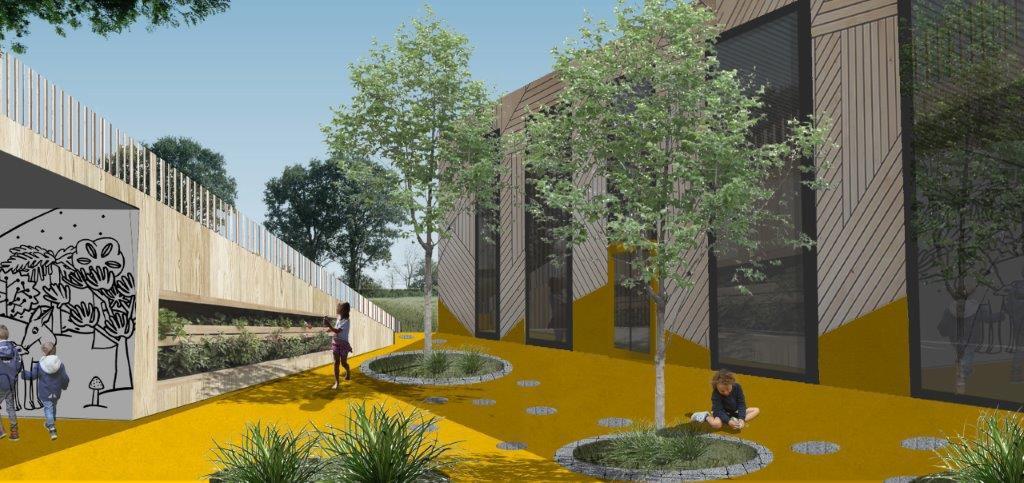 Na osiedlu Stare Stawy w Oświęcimiu powstanie żłobek i przedszkole dla 200 dzieci. Pierwsze skorzystają z kompleksu oświatowego na początku 2023 roku.