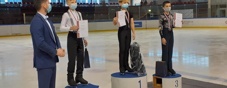 Sukcesy oświęcimskich łyżwiarzy figurowych na Mistrzostwach Polski