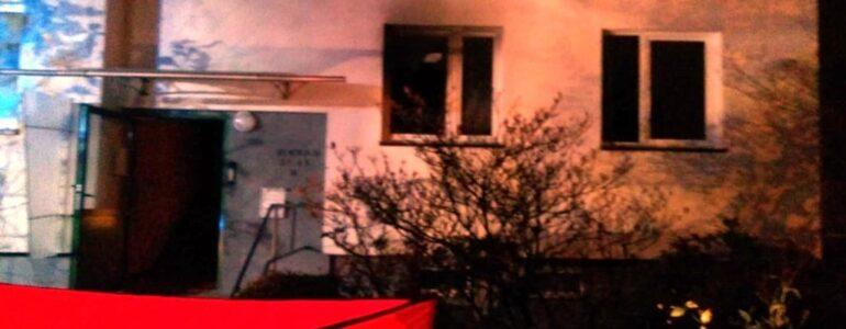 Pożar w bloku w Kętach. Nie żyje 89-latka