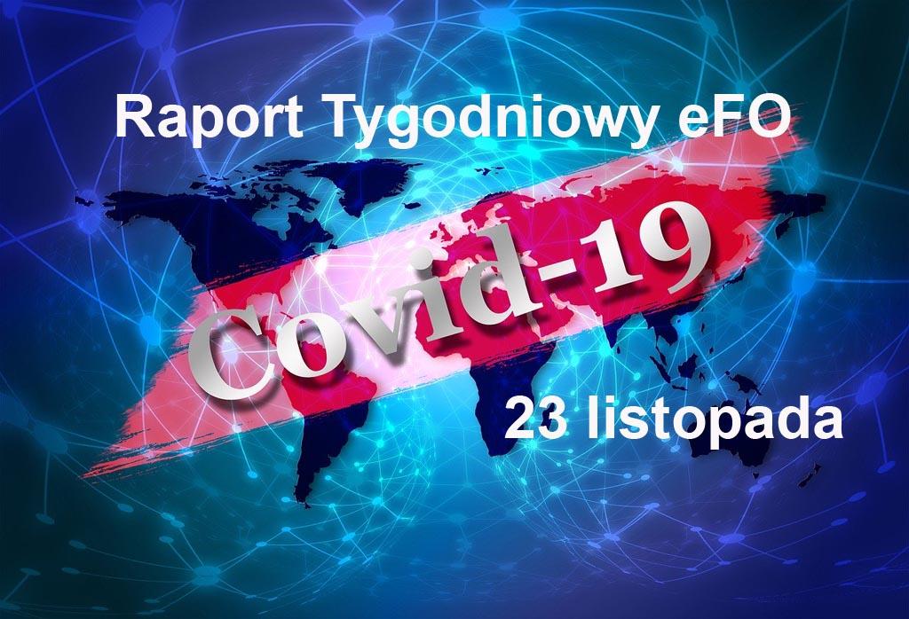 Od ostatniego Raportu Tygodniowego eFO w powiecie oświęcimskim przybyło 739 przypadków zachorowania na COVID-19. Zmarło kolejnych 25 pacjentów.