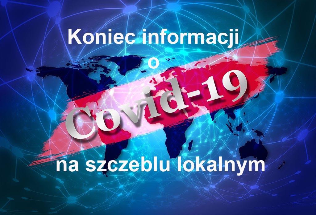 Od dzisiaj stacje sanepidu nie publikują na swoich stronach internetowych raportów dotyczących zakażeń COVID-19 na swoim terenie.