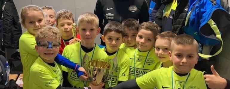 Żacy Football Project Kęty Nowa Wieś wygrali rozgrywki Ligi Jesiennej