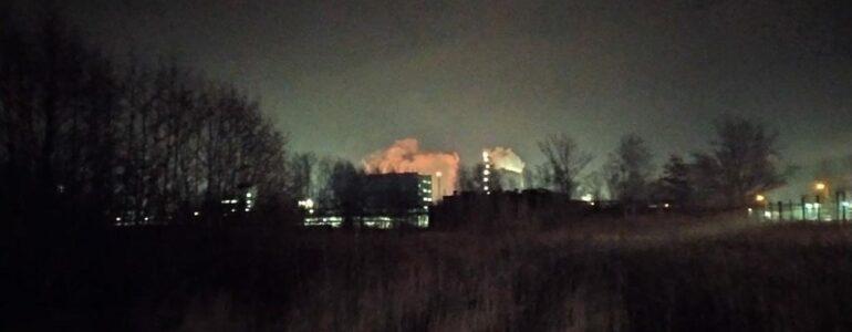 Wybuch w Oświęcimiu. Ogień i dym nad firmą Synthos – FILMY, FOTO