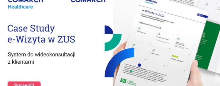 Comarch wdraża system e-wizyt w Zakładzie Ubezpieczeń Społecznych
