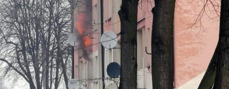 Spłonęło ich mieszkanie. Potrzebują pomocy