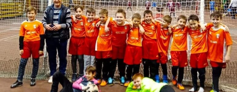 Orliki LKS Poręba Wielka wygrali turniej Winter Cup