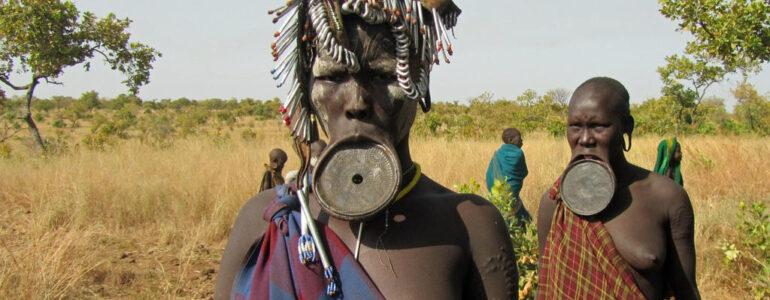 Wśród dzikich plemion Etiopii