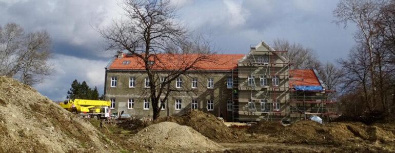 Trwa modernizacja siedziby Muzeum Pamięci Mieszkańców Ziemi Oświęcimskiej – FOTO