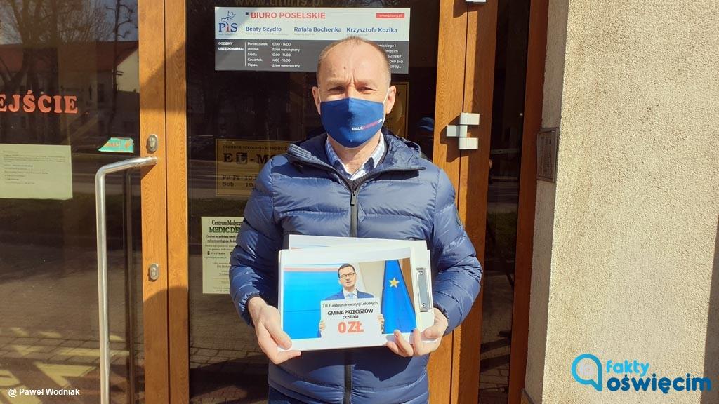 Poseł Marek Sowa podsumował wyniki kolejnego naboru w ramach Rządowego Funduszu Inicjatyw Lokalnych. Powiat oświęcimski otrzymał najmniej.
