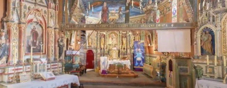 Kościół w Jawiszowicach zeskanowany laserowo – FILM