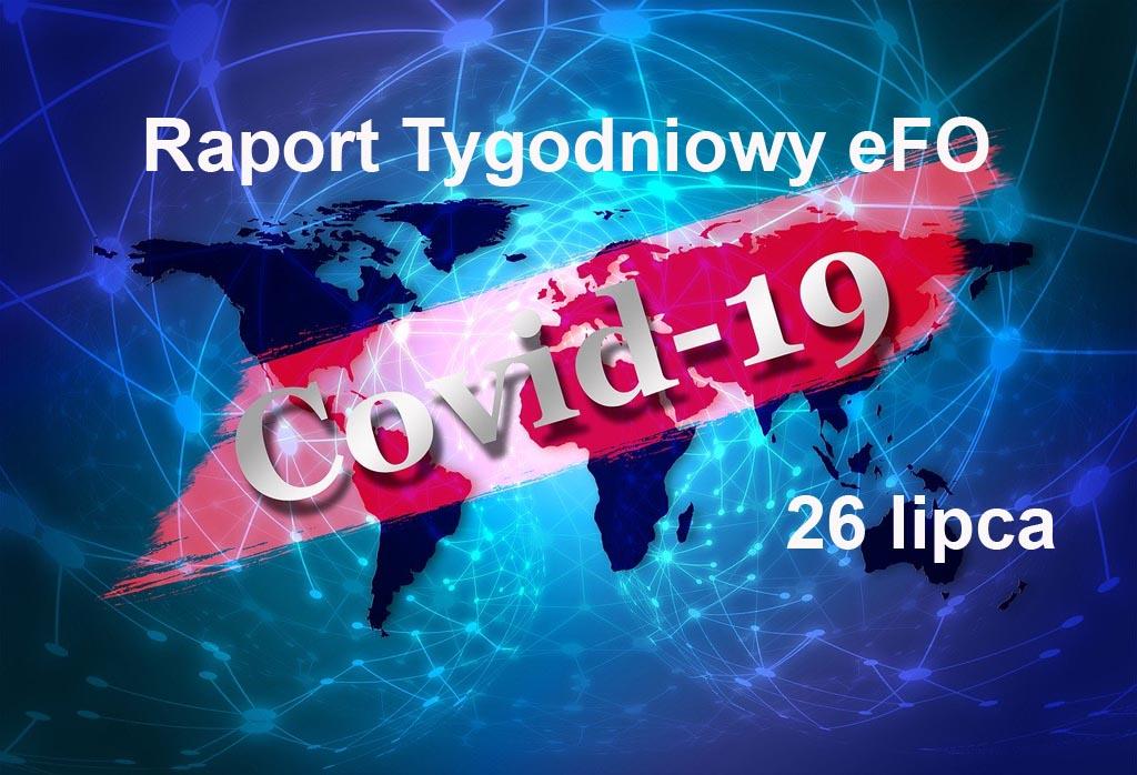 Od ostatniego Raportu Tygodniowego eFO w powiecie oświęcimskim przybyły dwa przypadki zachorowania na COVID-19. Nikt nie zmarł, było dwóch ozdrowieńców.