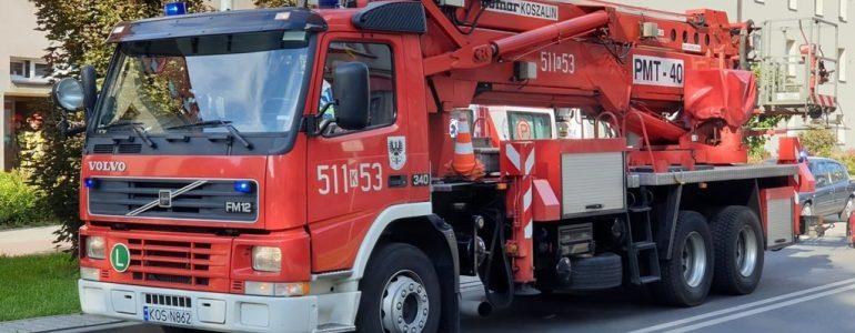 Kapuśniak wywołał alarm pożarowy – FOTO