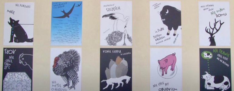 Mówię do ciebie – wystawa plakatów Danki Żukowskiej