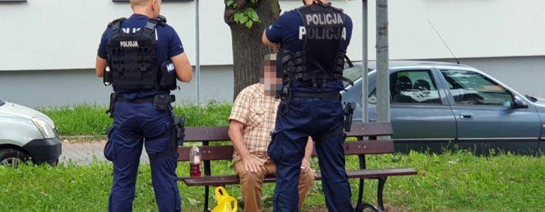 Znieważył policjantów i naruszył ich nietykalność