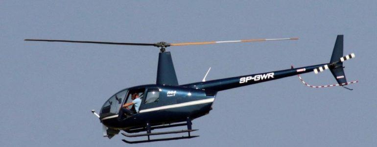 Helikopter nad powiatem oświęcimskim – FOTO