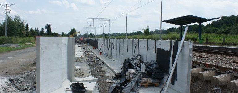 We Włosienicy powstaje nowy peron – FOTO