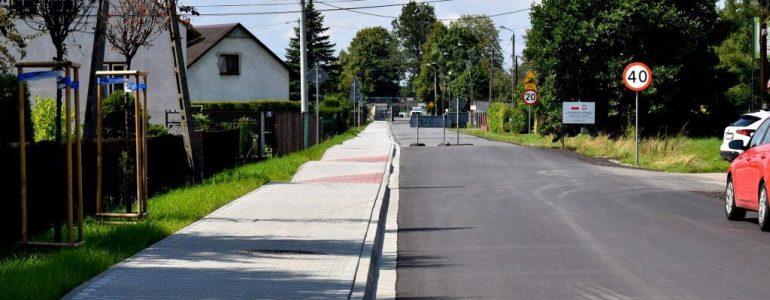 Ulica Nowowiejska w Gorzowie wyremontowana