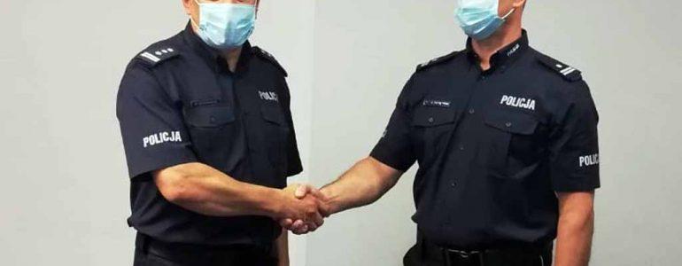 Nowy szeryf w kęckim komisariacie policji – FOTO
