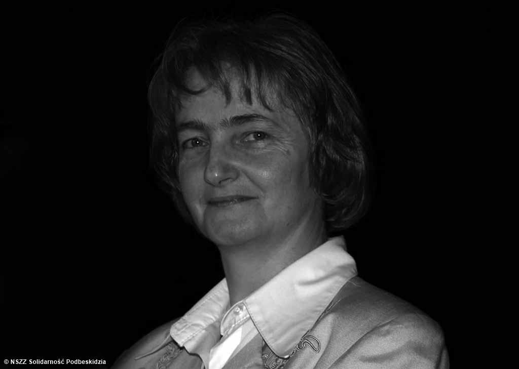 """W wieku 63 lat w Bielsku-Białej zmarła Teresa Szafrańska, jedna z najważniejszych i najjaśniejszych postaci podziemnej """"Solidarności"""" na Podbeskidziu."""