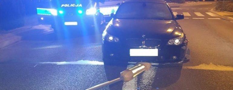 Pijany kierowca potrącił policjantów – FOTO