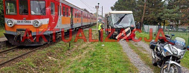 Wypadek na przejeździe kolejowym – AKTUALIZACJA