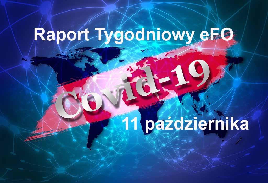 Od ostatniego Raportu Tygodniowego eFO w powiecie oświęcimskim przybyły dwa przypadki zachorowania na COVID-19. Dwie osoby zmarły.