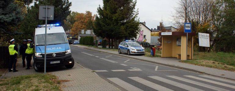 Samochód potrącił dzieci na przejściu dla pieszych