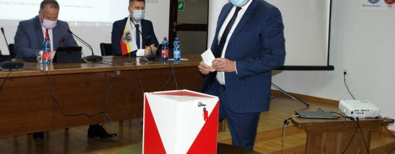 Nowy sternik powiatu przed kamerą eFO – FILM