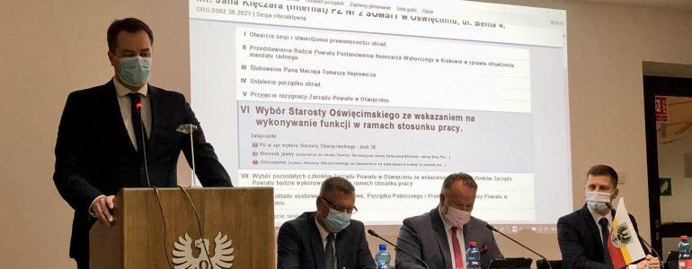 Andrzej Skrzypiński starostą oświęcimskim